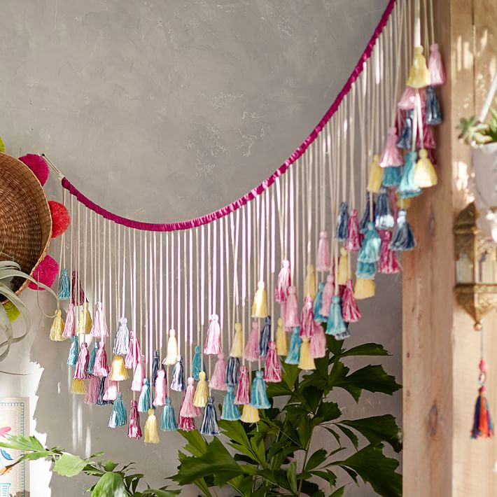 Tassel banner from PB Teen