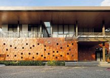 Striking Terracotta Façade Welcomes You at the Energy Efficient Akanaka
