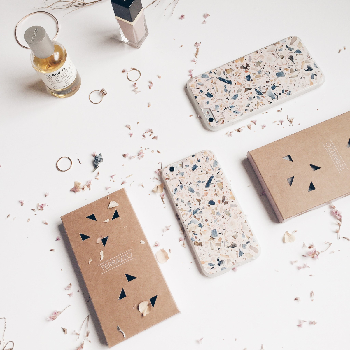 Terrazzo iPhone case from Form Maker