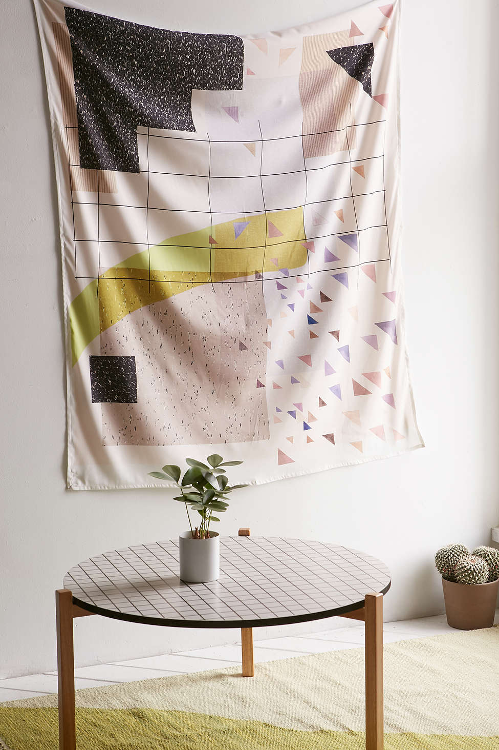 Terrazzo tapestry from Urban Outfitters
