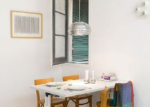 Tiny dining room idea for the small modern apartment