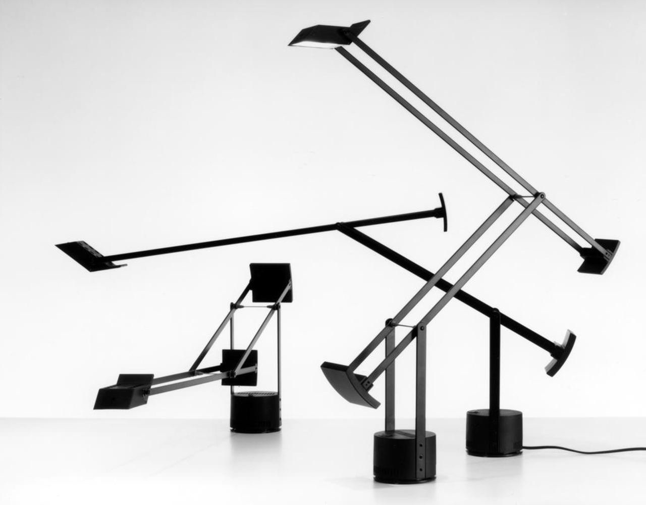 Tizio desk lamp (1972) forArtemide. Winner of thePrize Grand Prix Triennale XV 1974 andincluded in the Permanent Design Collection at MoMA.Image courtesy of Richard Sapper.