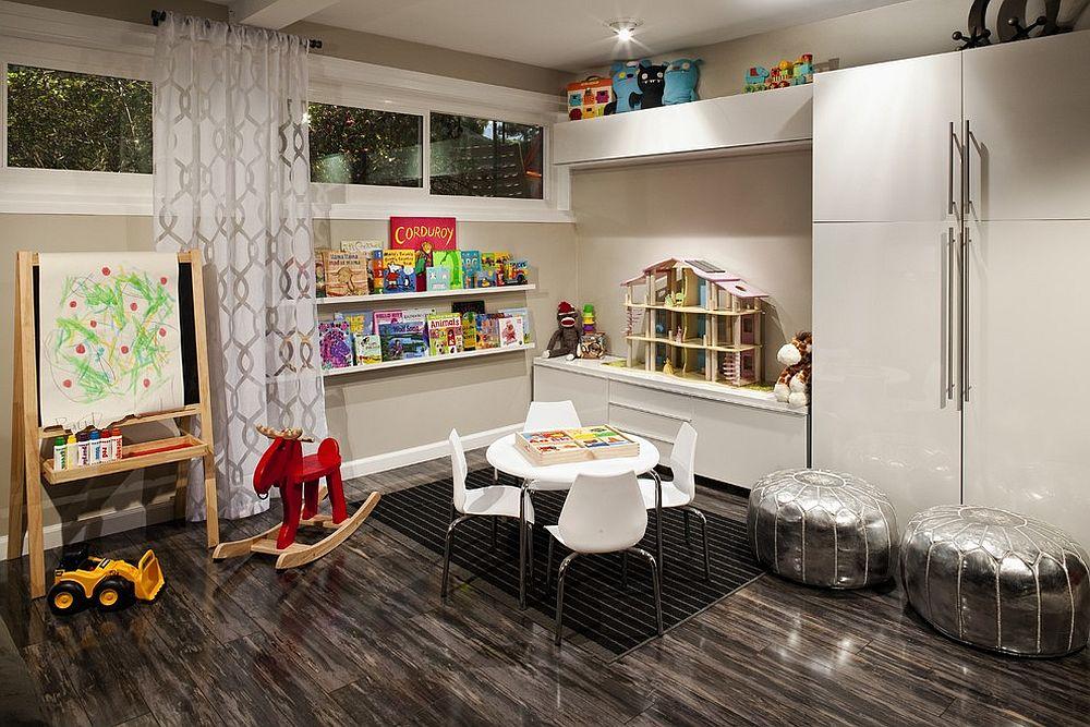 Transform the kids' room corner into a fun play area [Design: FLO Design Studio]