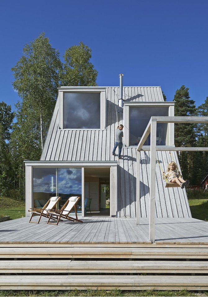 Triangular Summer House