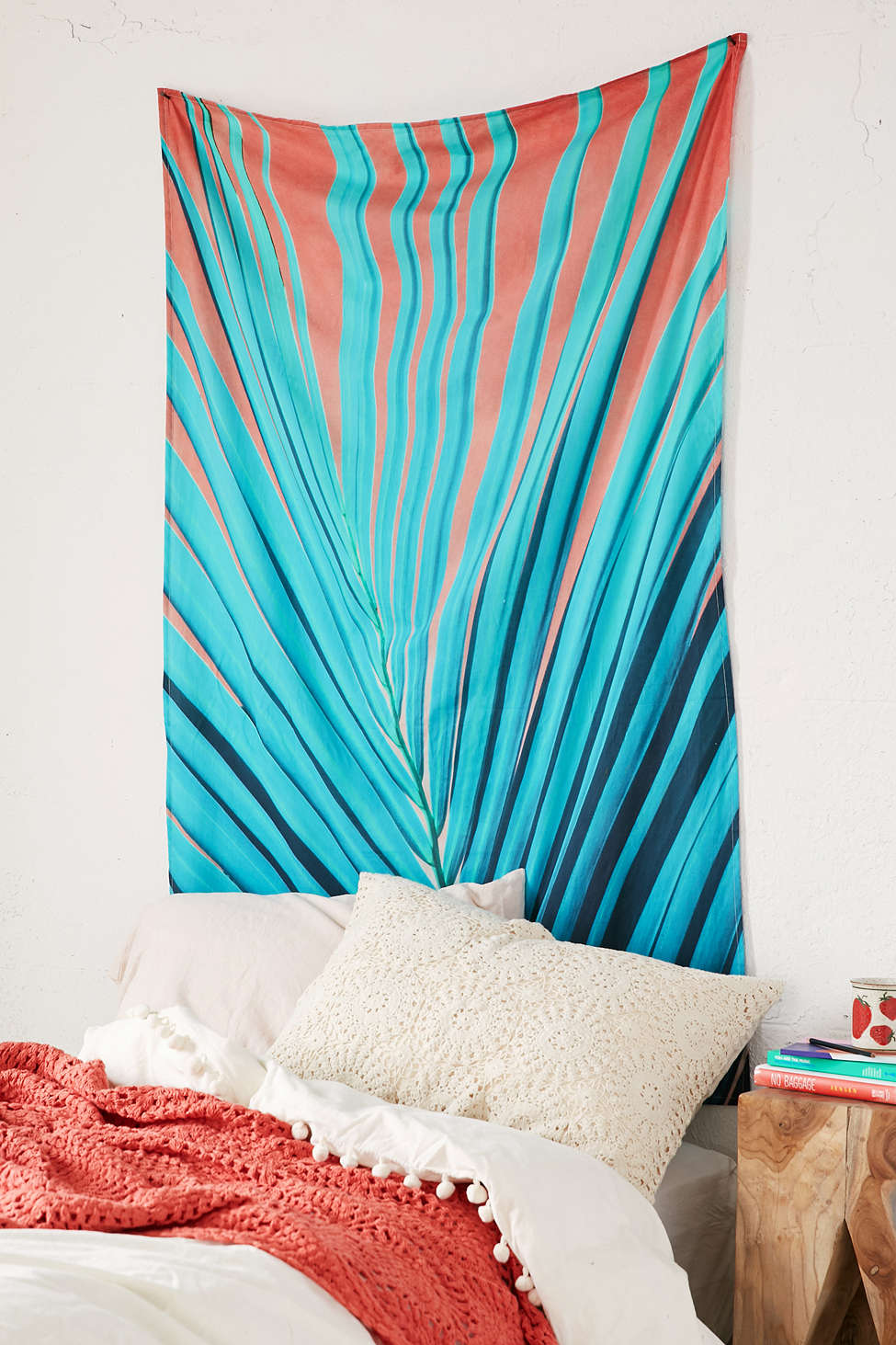 Tropical wall tapestry from Urban Outfitters