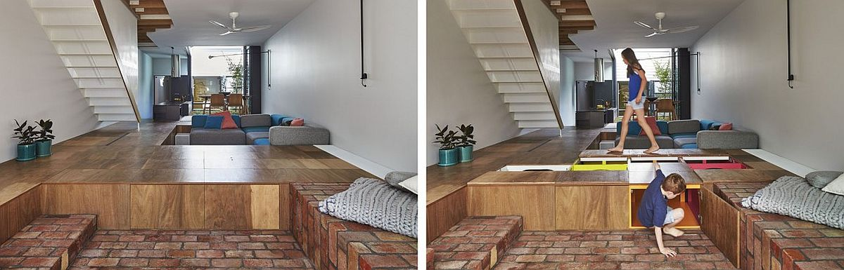 Charmant View In Gallery Turn Your Living Room Floor Into Giant Storage Space