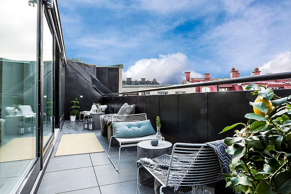 Turn your small balcony into a personal sanctuary