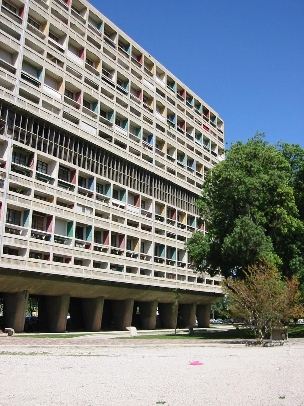 Unité d'Habitation, Marseille, France, 1945. Photo byBénédicte Gandini©FLC/ADAGP.