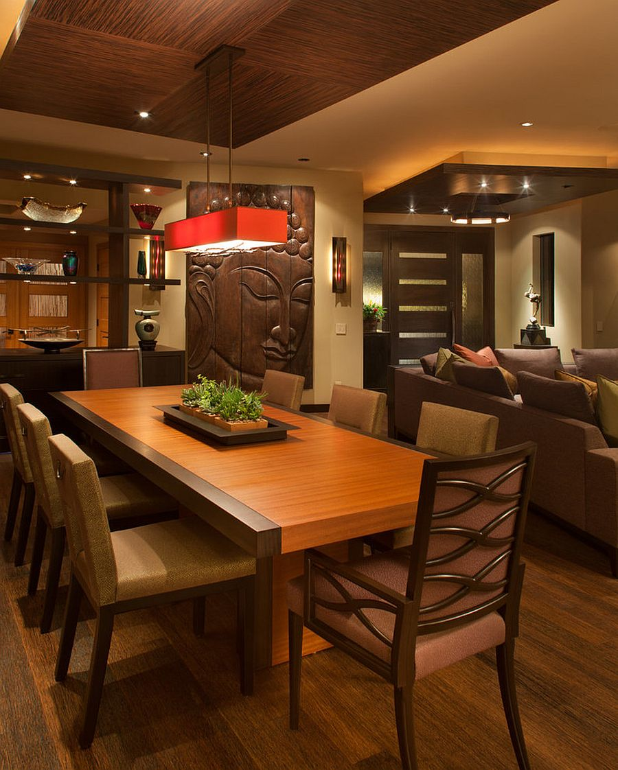 Dinning Room: Serene And Practical: 40 Asian-Style Dining Rooms