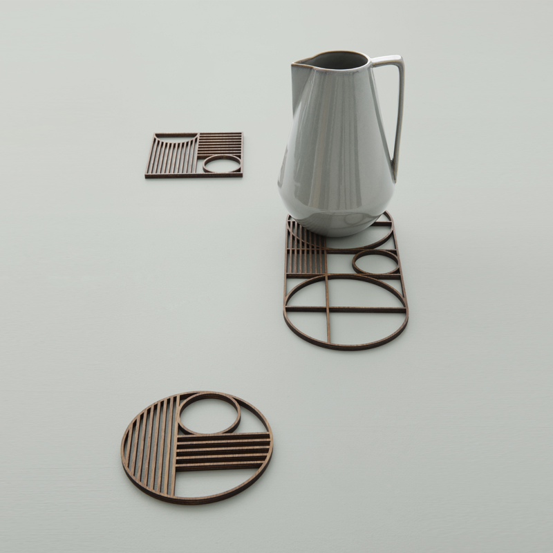 Wooden trivets from ferm LIVING