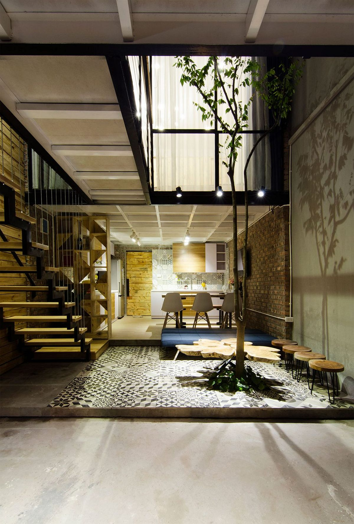 A's House Project by Global Architects & Associates in Hanoi