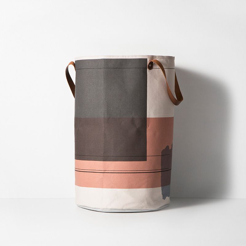 view in gallery abstract laundry basket from ferm living