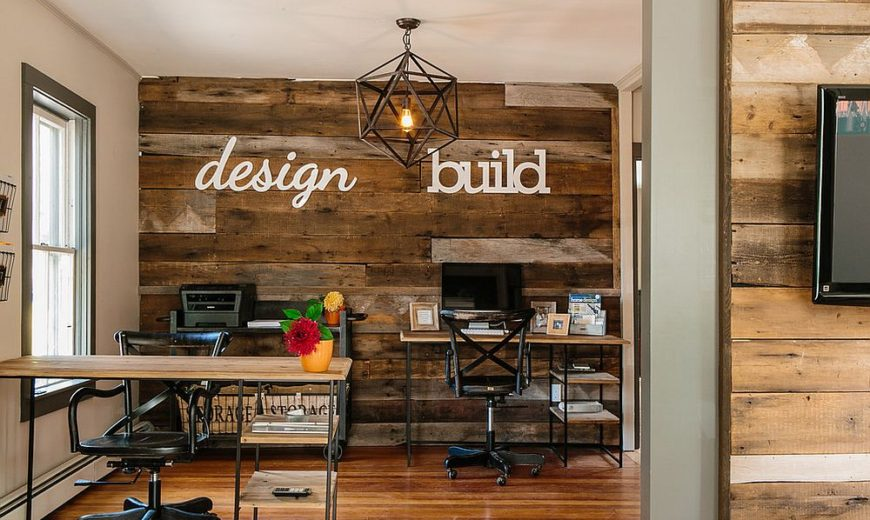 Ingenious Ways to Bring Reclaimed Wood into Your Home Office
