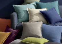 Assortment of pillows from Crate & Barrel