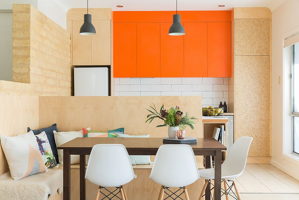 Banquettes allow you to create a room within a room [Design: Space Craft Joinery]