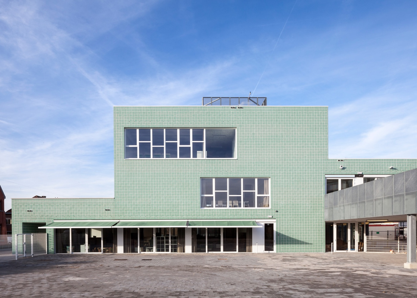 Belgium primary school rear