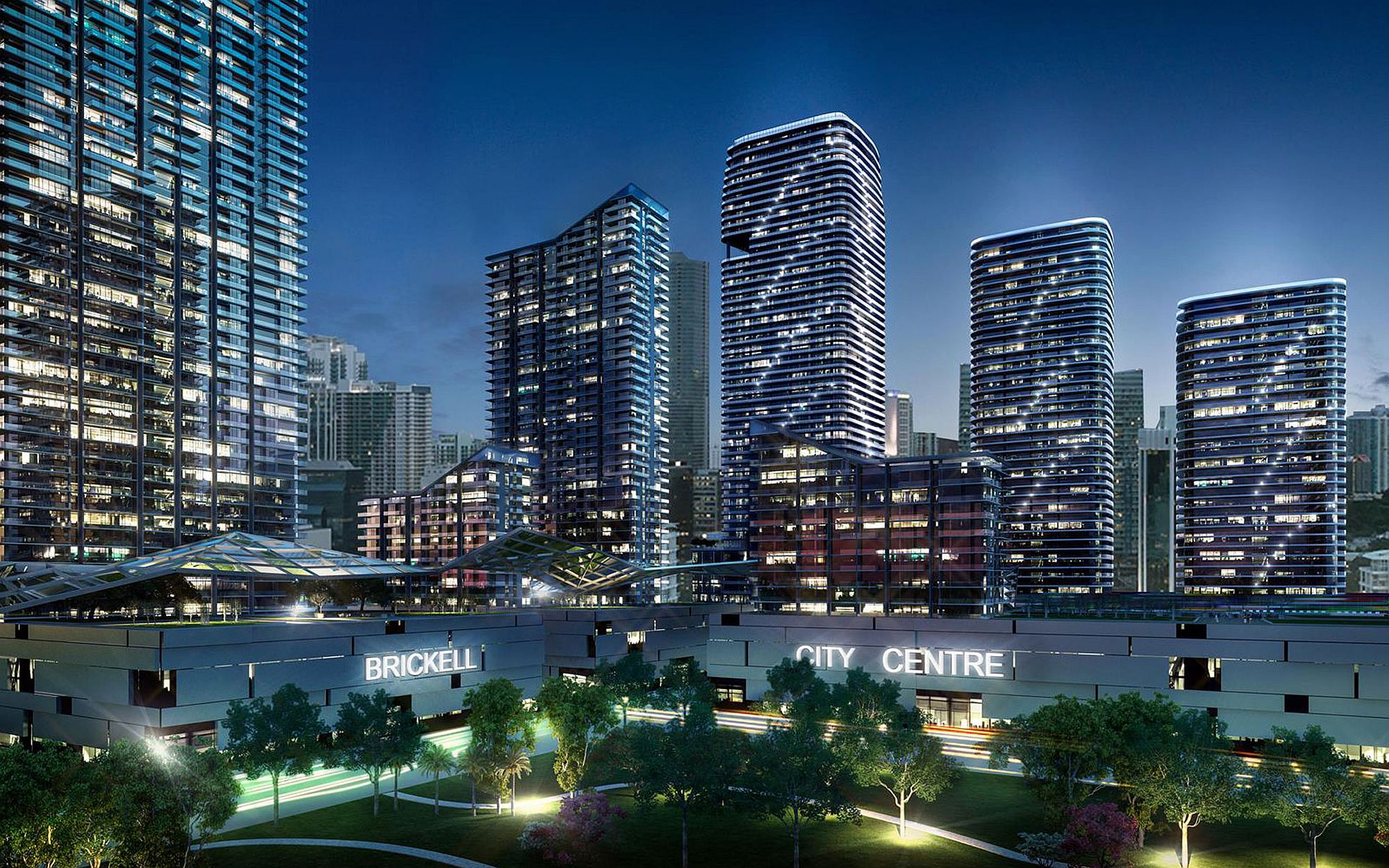Brickell Heights provides a luxurious gateway into Miami's Downtown and its glitzy nightlife