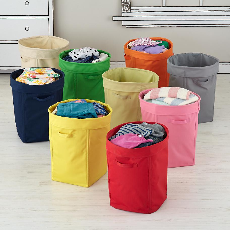 hampers for kids colorful foldable canvas kids hamper the land of  - laundry basket designs that make household chores stylish