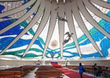 Catedral de Brasília interior