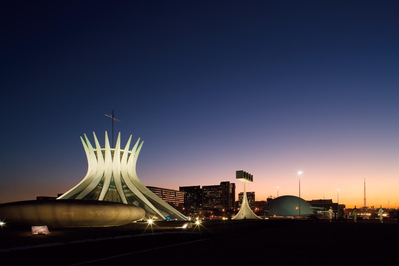 Catedral de Brasília.Photo©Embratur viaBrazilian Government website on the 2014 World Cup.