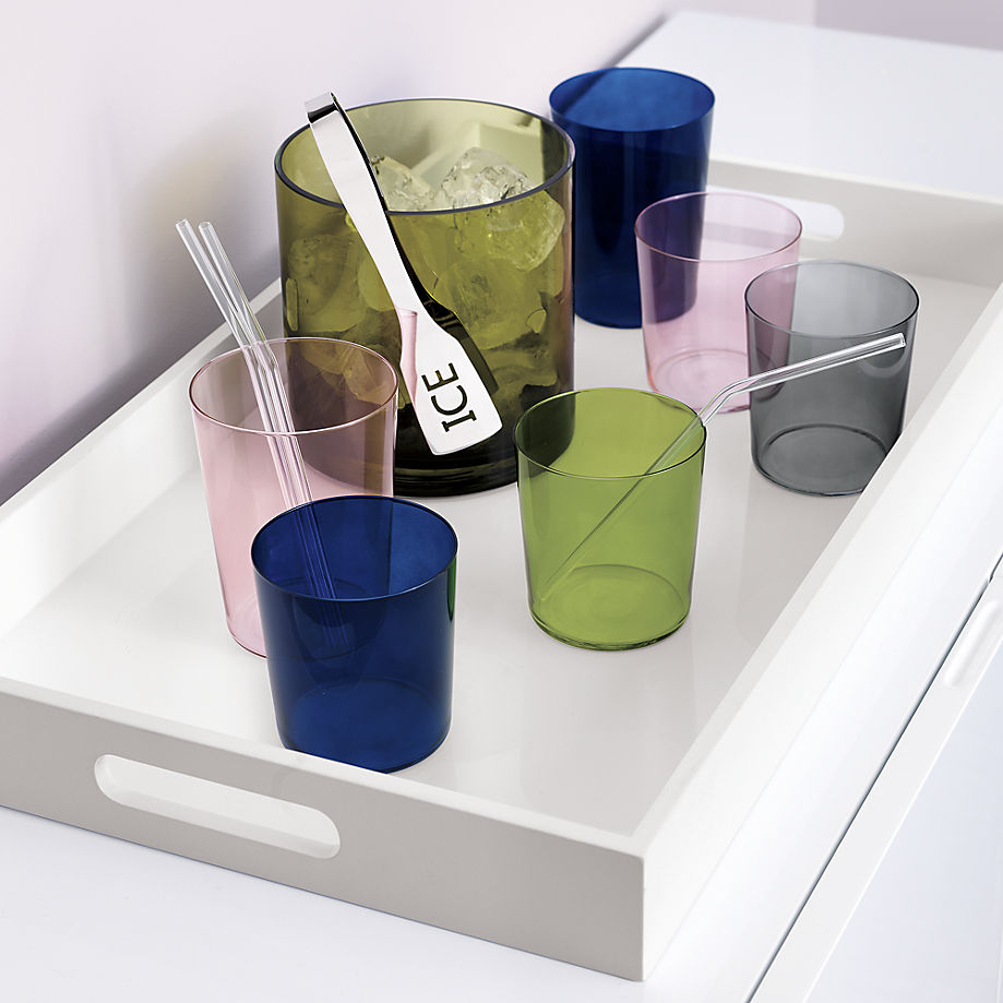 Colorful tumblers from CB2