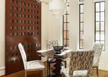 Contemporary-dining-room-with-unique-sliding-barn-door-217x155