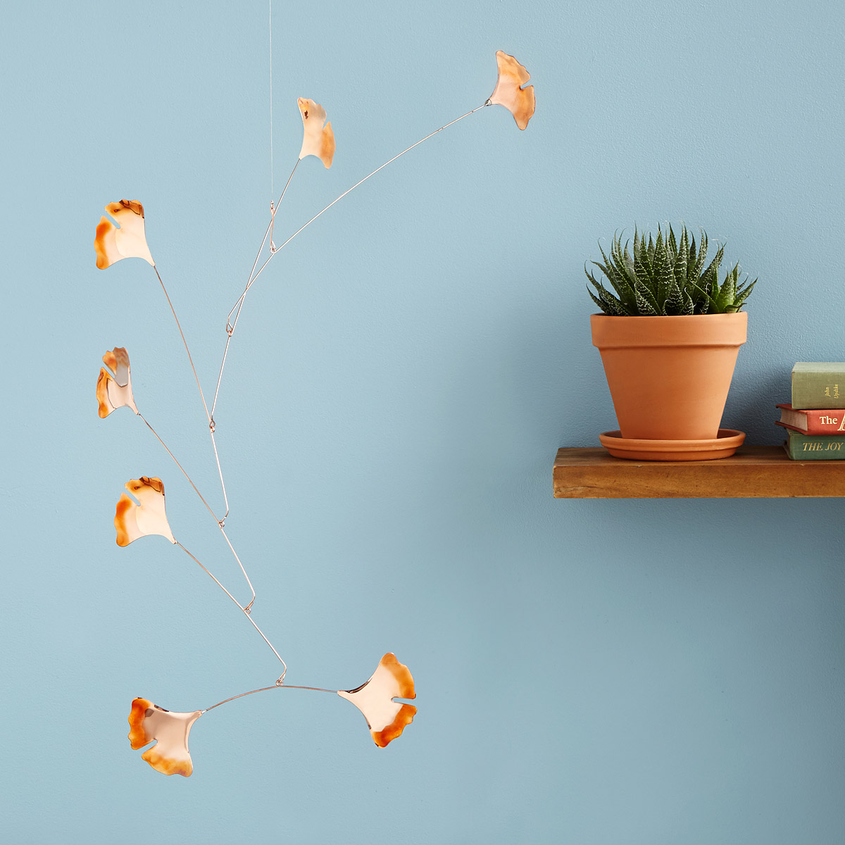 Copper mobile from Uncommon Goods