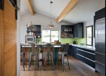 Create your own custom kitchen island with reclaimed wood