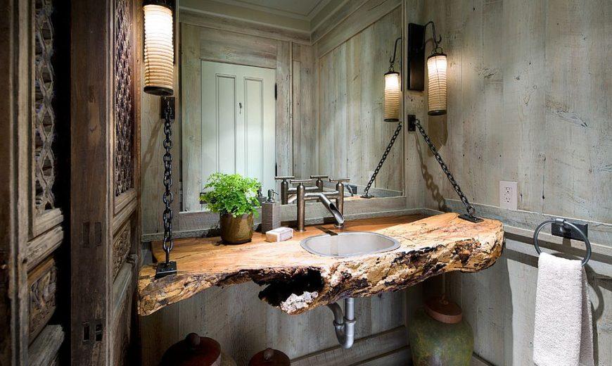 A Natural Treat Live Edge Vanity Top Redefines Modern Bathrooms