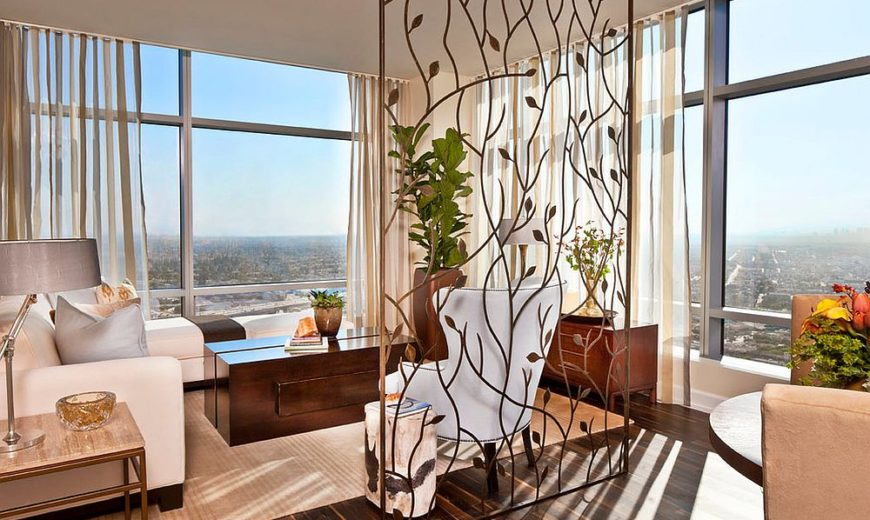 25 Nifty, Space Saving Room Dividers For The Living Room
