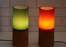Desk lamps from Uncommon Goods