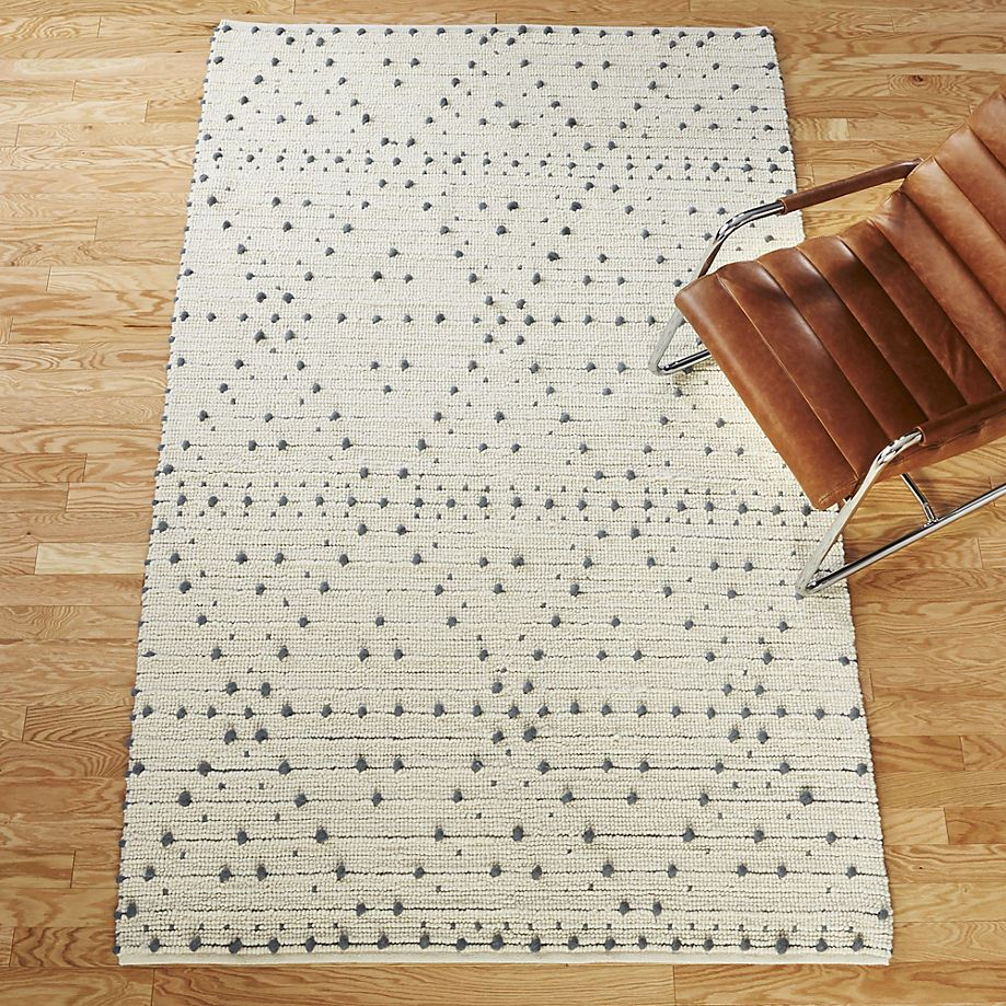 Dotted rug from CB2