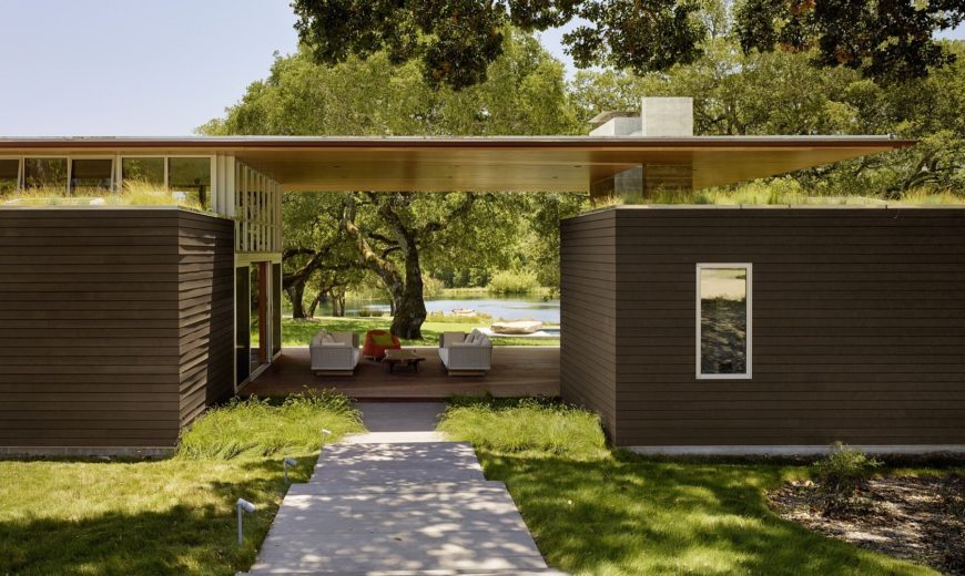 Summer Outdoor Living at Its Sustainable Best: Sonoma Residence