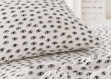 Eye pattern sheets from Urban Outfitters