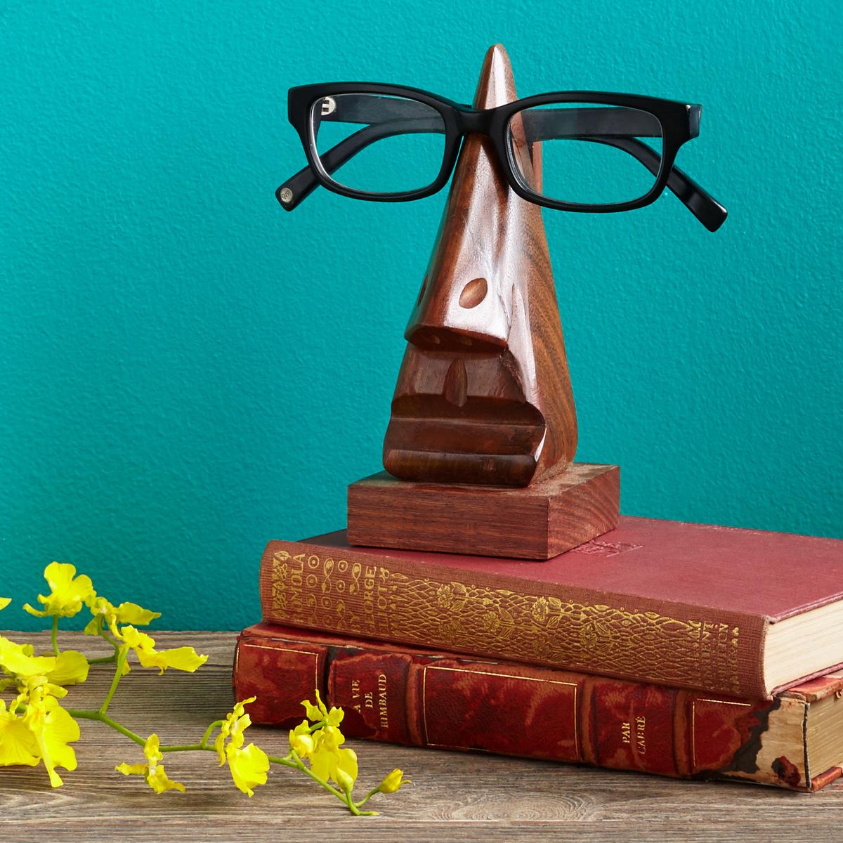 Eyeglasses holder from Uncommon Goods