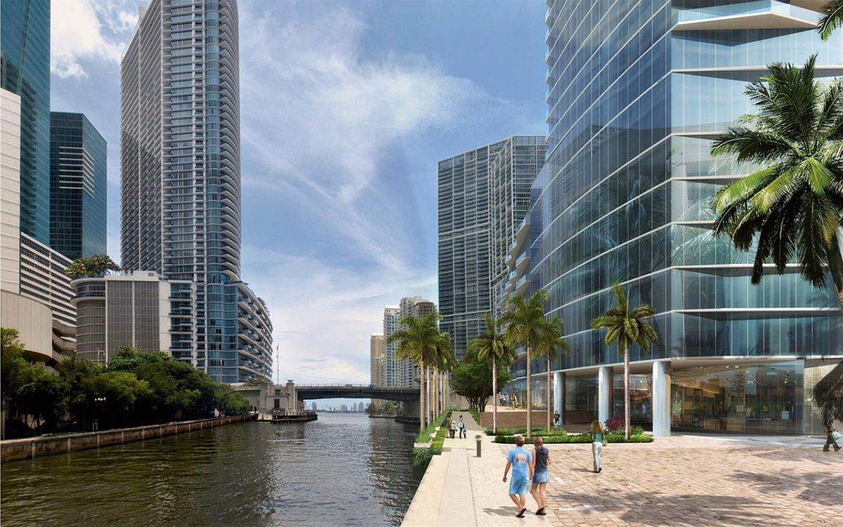 Fabulous new condos siiting next to the river offer world-class style and luxury