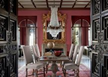 Give your Victorian dining room an entrance that matches the grandeur of the interior