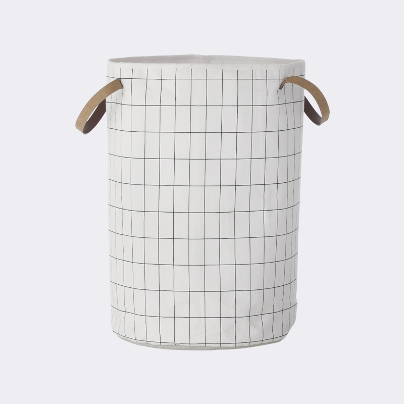 Grid laundry basket from ferm LIVING