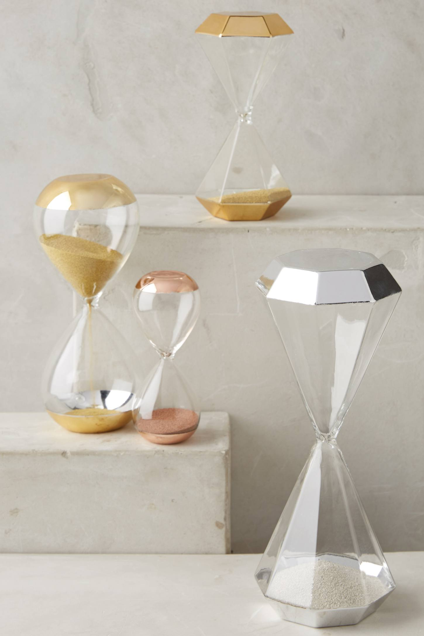 Hourglasses from Anthropologie