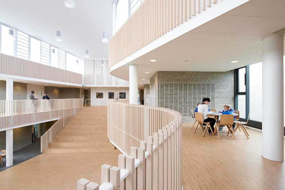 Interior at International school Ikast-Brande.
