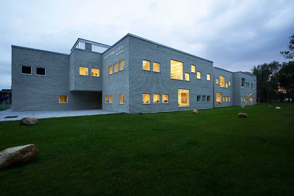 International school Ikast-Brande by architectural firm C.F. Møller.
