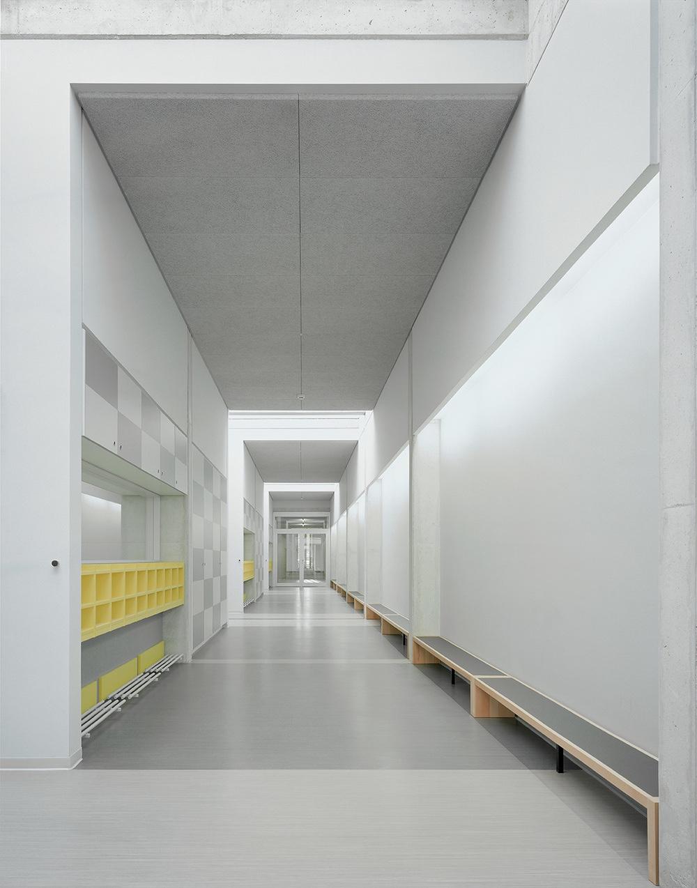 Hallway in Kindergarten Kunterbunt.