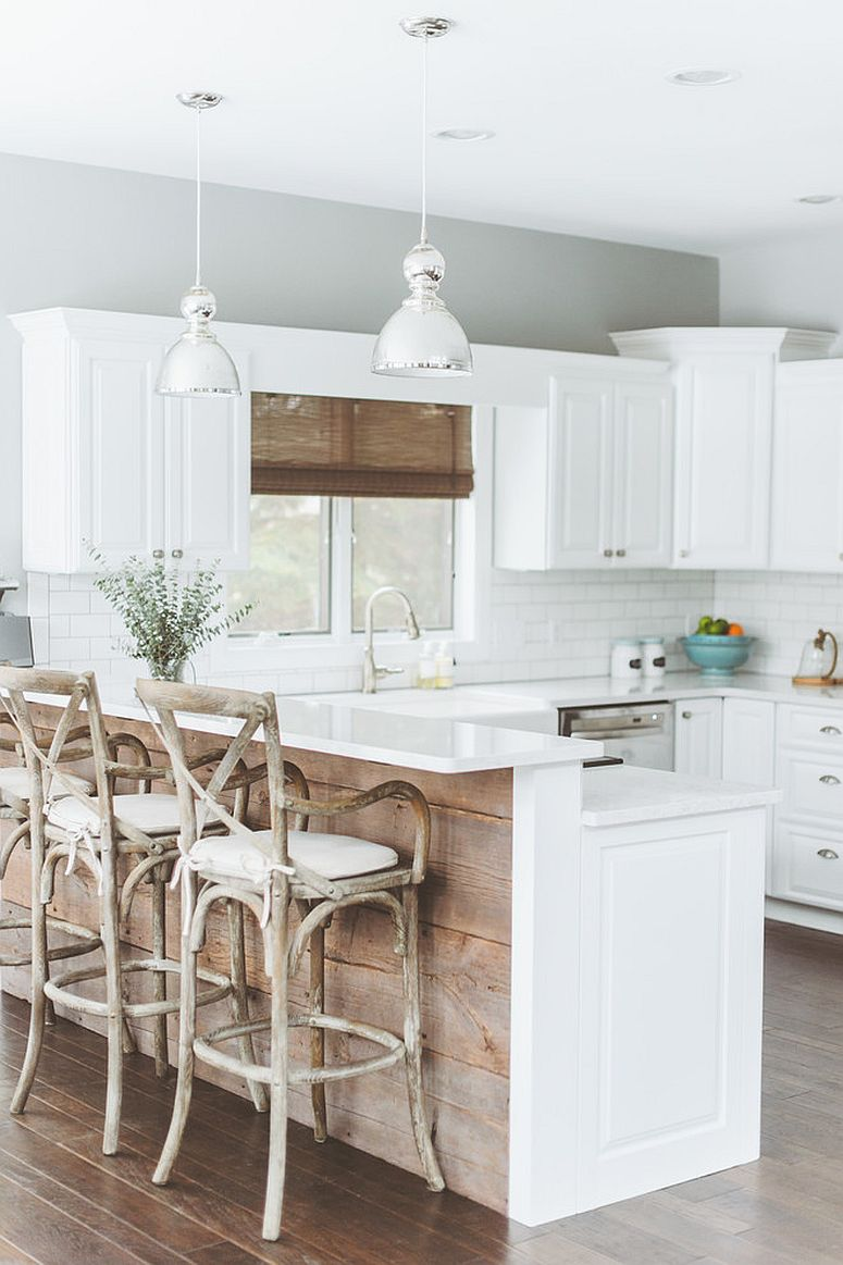 20 gorgeous ways to add reclaimed wood to your kitchen interior