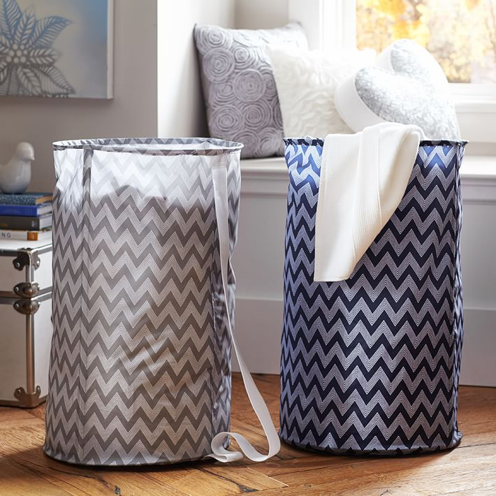 Laundry hamper bags from PBteen