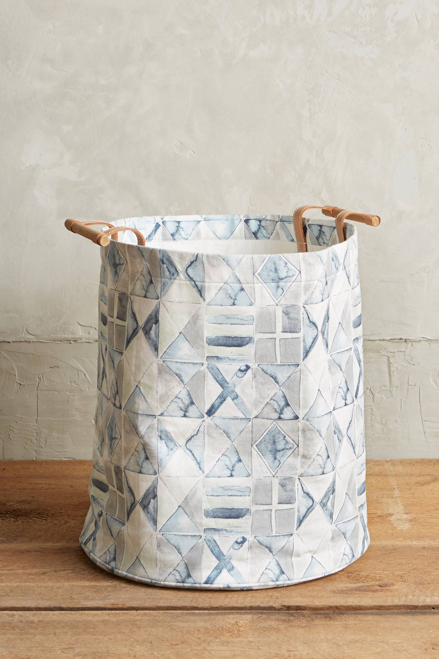 Laundry hamper from Anthropologie