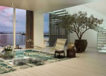 Luxurious interior of apartments at Auberge Miami