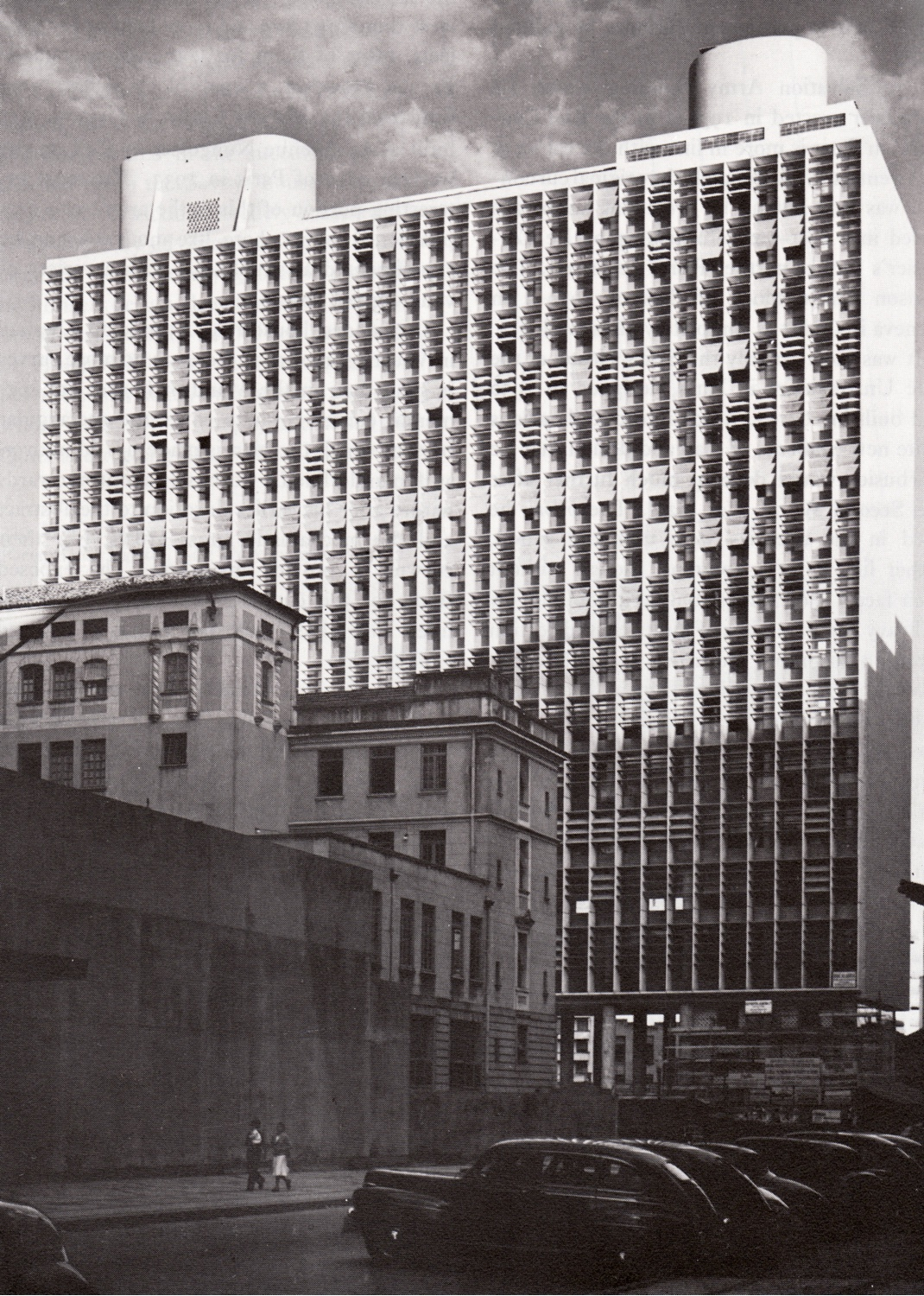 Ministry of Education and Health Building or Palácio Gustavo Capanema. Image via Miguel Martín Graduate Thesis Blog.