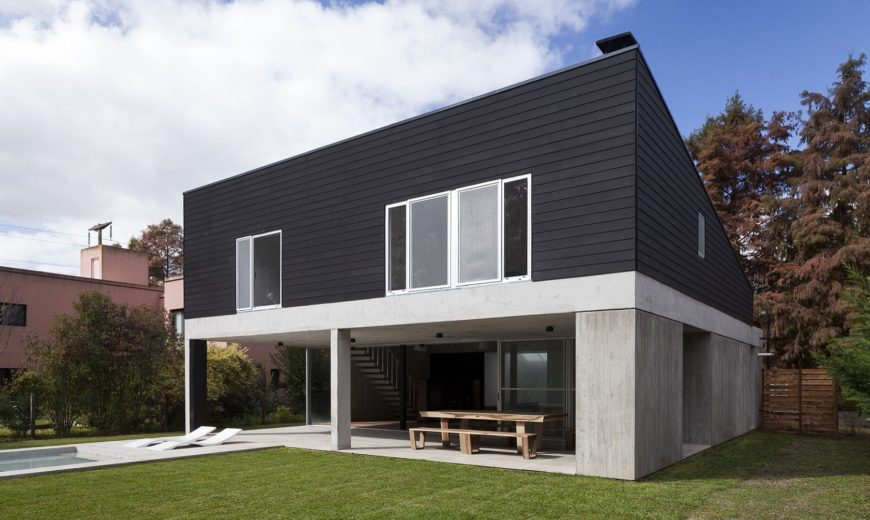 House DV: Modern Minimalism Draped in Concrete and Steel