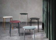 Modern stools from ferm LIVING