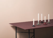 Modern table from ferm LIVING 217x155 Scandinavian Style Embraces Fall Colors